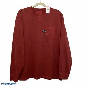 NWT L.L.Bean Men's long sleeve crew neck tee shirt
